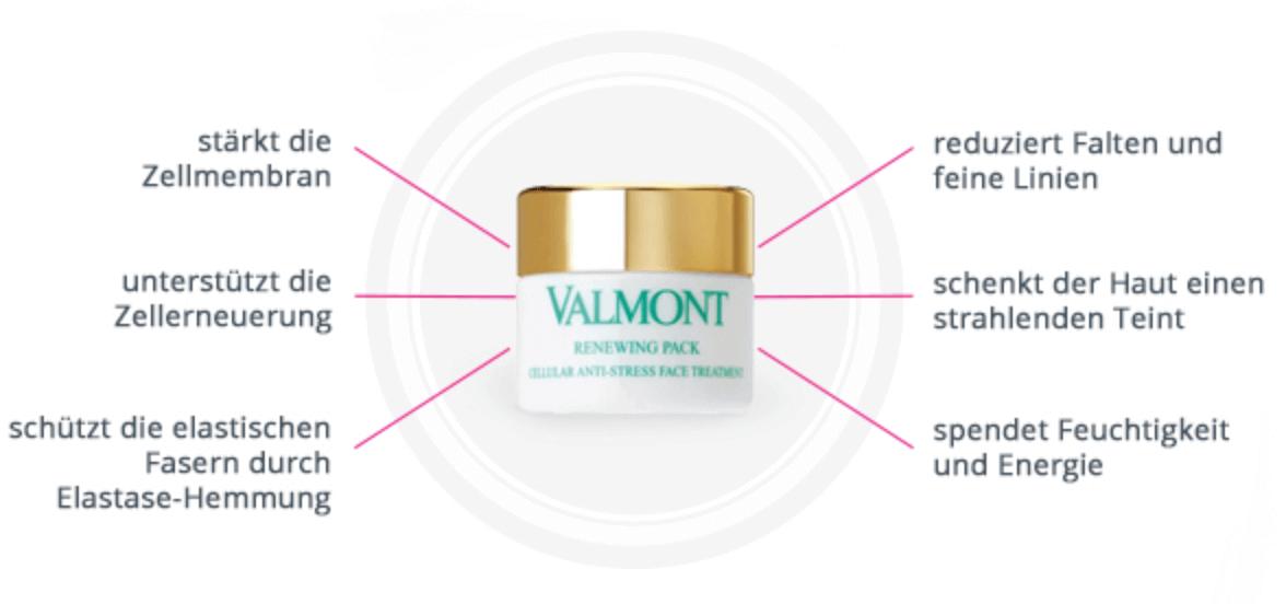 Valmont Prime Renewing Pack Zusammenfassung
