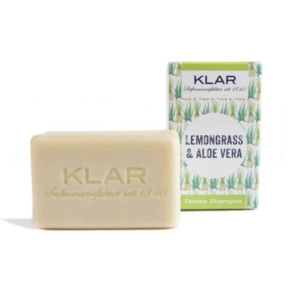 Festes Shampoo Lemongrass & Aloe Vera
