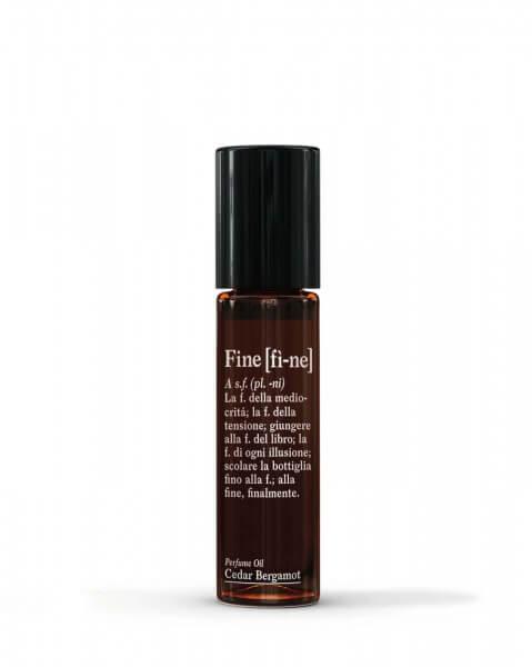 Fine Perfume Oil Cedar Bergamot