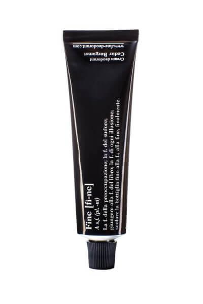 FINE Deodorant Cedar Bergamot, Tube 40g