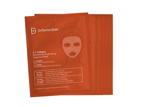 C+Collagen Biocellulose Brightening Mask
