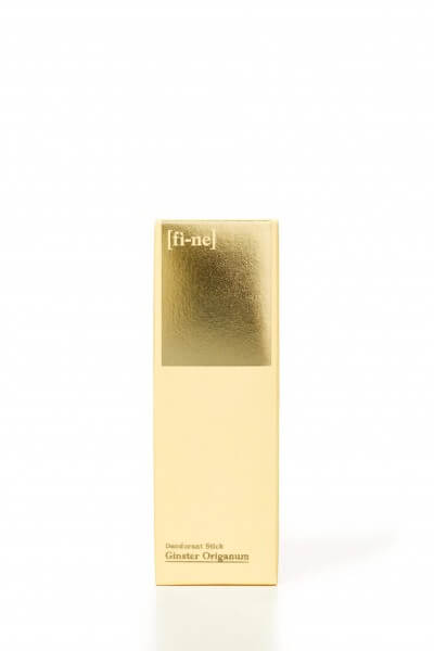 Fine Deodorant, Stick 50g Ginster Origanum